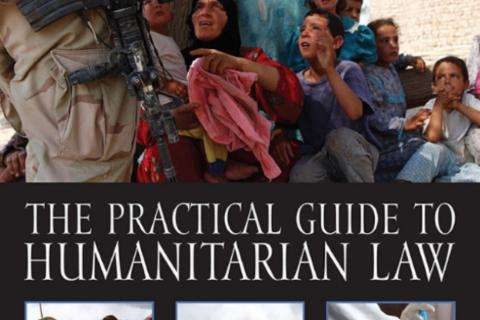 """The Practical Guide to Humanitarian Law"" Third English Language Edition book cover"