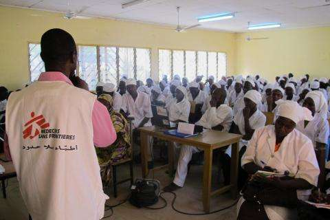 Round Table at the MSF fistula project in Chad